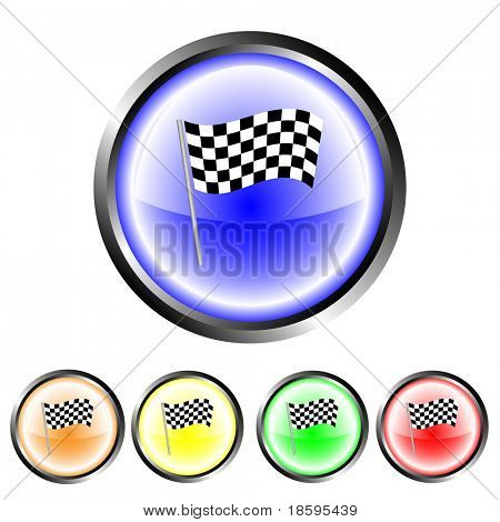 Finish flag buttons