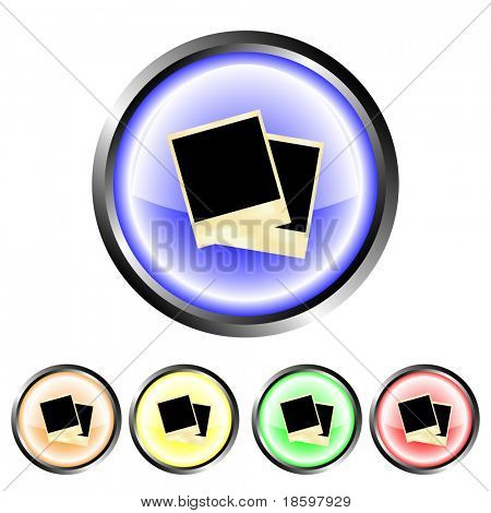 Instant photo frame buttons