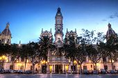 City Hall Building in Valencia, Spain