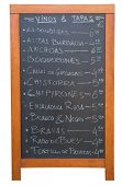 picture of spanish money  - A Tapas menu in Valencia - JPG
