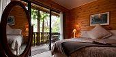 Fox Glacier Lodge Bedroom Interior