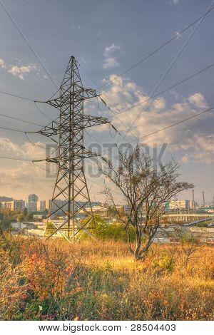 La naturaleza y Industrial