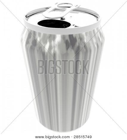 Metallic Can