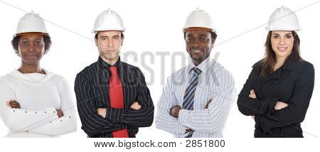 Engineers African-Americans And Caucasians