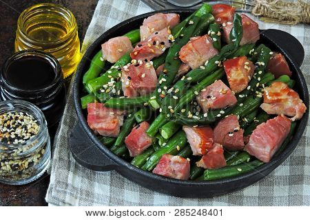 Green Beans With Bacon In