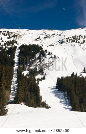Piste And Lift
