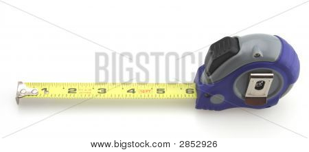 Blue And Gray Tape Measure