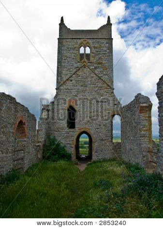 Ruin Church On Hill