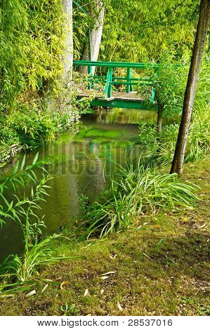 Bridge in Monet's Garden