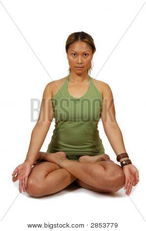 Yoga Pose Lotus