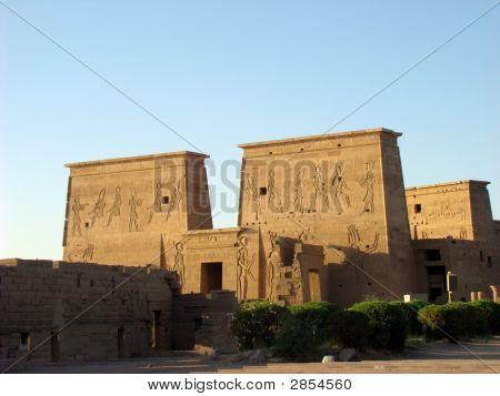 Philae temple in Azwan