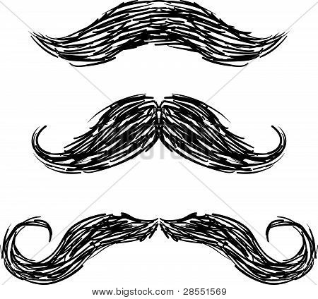 Mustaches sketch