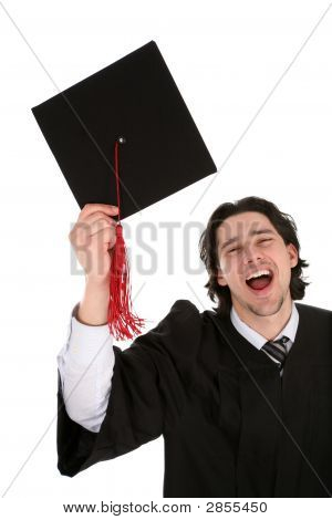 Young Man At Graduation