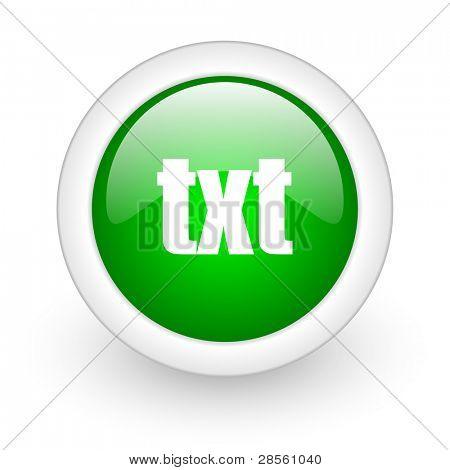 txt web button