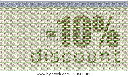 Discount Coupon -10%