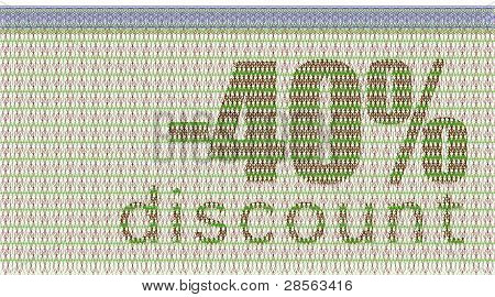 Discount Coupon -40%