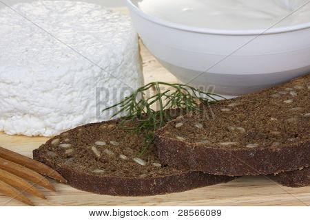Sour Cream And  Quark