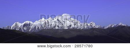 tibet: namjagbarwa peak