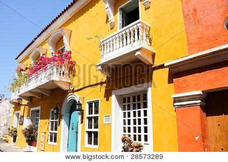 Spanish Colonial House.