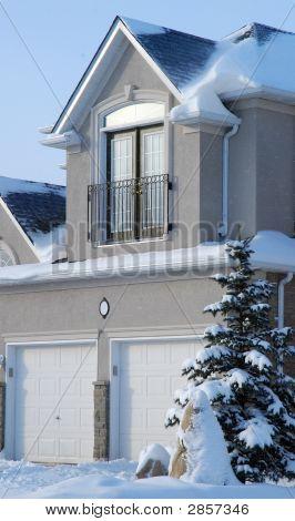 Snowed House
