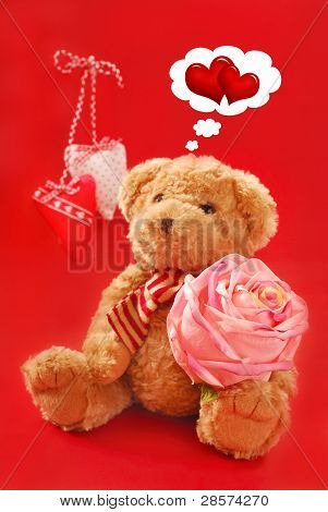 Teddy Bear For Valentines