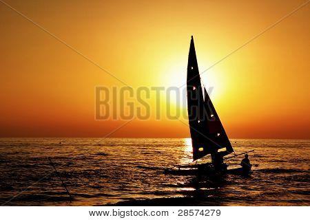 sail silhouette