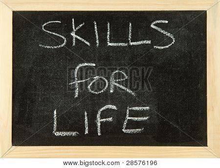 Skills For Life.