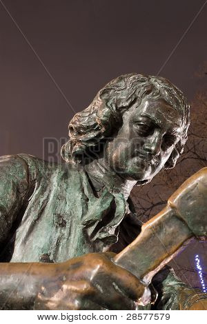 Part Of Bronze Statue Of Peter The Great