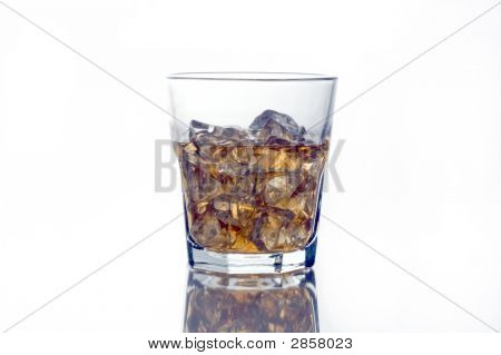 Highball Glass Of Scotch