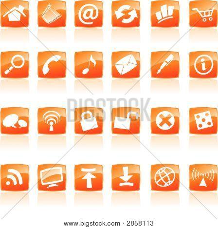 Orange Symbole