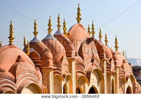 Hawa Mahal, Jaipur, India.