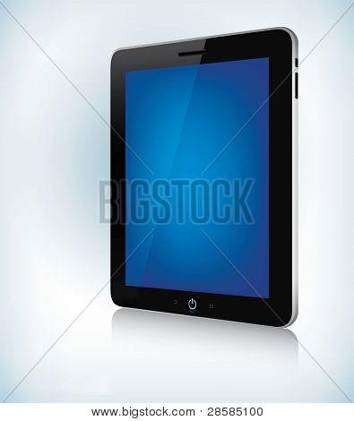 Tablet Device - Jpeg version of vector illustration