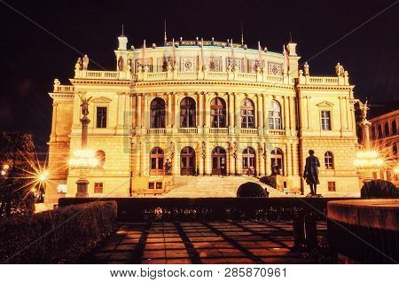 Rudolfinum Czech Philharmonic In Prague
