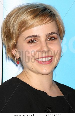 LOS ANGELES - JAN 6:  Mae Whitman arrives at the NBC Universal All-Star Winter TCA Party at The Athenauem on January 6, 2012 in Pasadena, CA