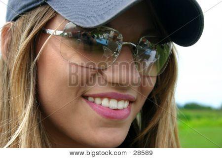 Big Smile And Sunglasses