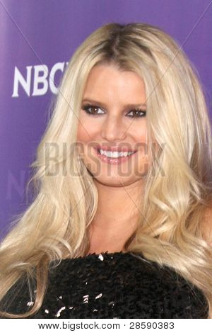 LOS ANGELES - JAN 6:  Jessica Simpson arrives at the NBC Universal All-Star Winter TCA Party at The Athenauem on January 6, 2012 in Pasadena, CA