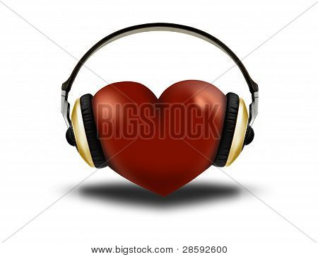 Headphones And Heart