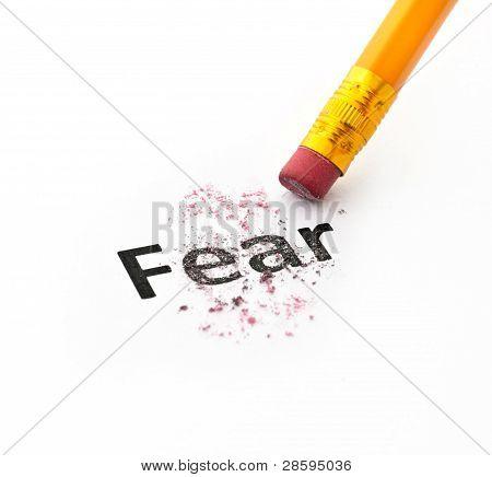Concepto de miedo