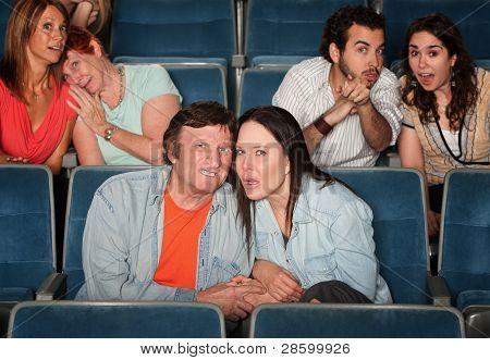 Upset Spectators