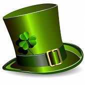 foto of saint patricks day  - illustration green St - JPG