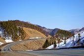 foto of sakhalin  - The Mountain mouting pass Kholmskiy on island Sakhalin - JPG