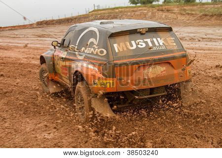Portalegre, Portugal - November 3: Andre Amaral Drives A Proto X3 In Baja 500, Integrated On Fia Wor