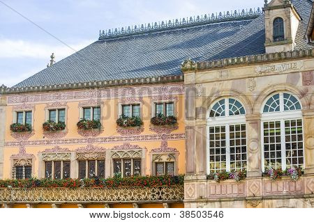Obernai (Elsass) Rathaus (Hôtel de Ville)