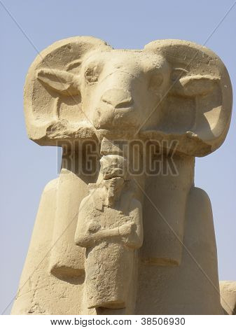 Egypt Temple Statue