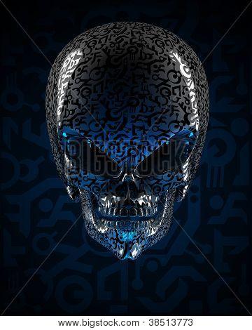 Cráneo de Alien