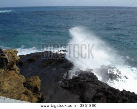 Halona Blowhole Oahu