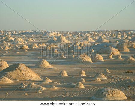 White Desert (Sahara El Beyda, Farafra) In Egypt