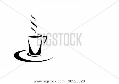 Coffee, Chocolate Or Tea Symbol