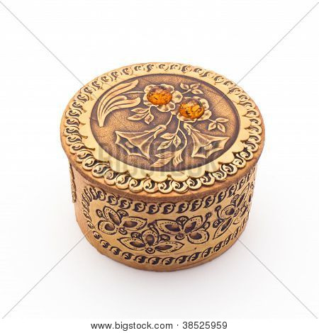 Beautiful Birch Bark Box For Jewelry