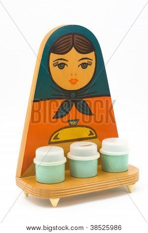 Set Of Kitchen Accessories - Matryoshka